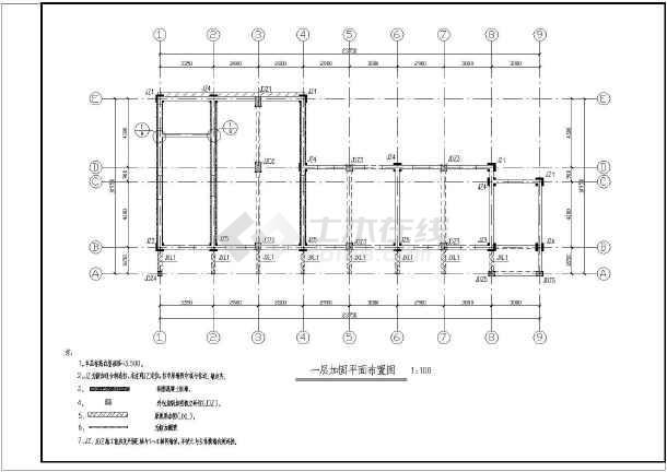 某砖混结构住宅加固施工图