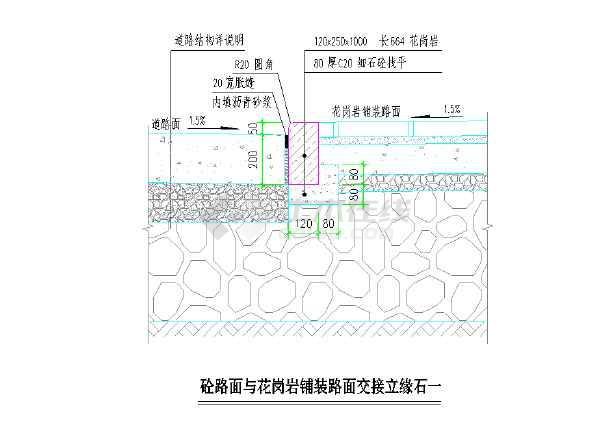 沥青路面结构层图