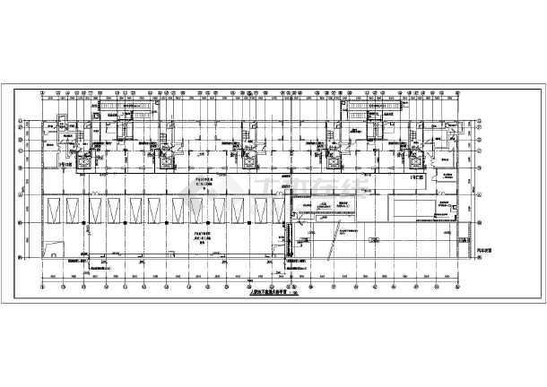 类高层住宅楼带地下室给排水施工图图片
