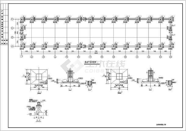 图纸 建筑结构图 厂房结构设计 轻钢结构厂房 某17.