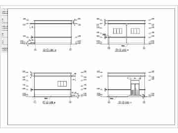 某地区公厕单层建筑结构设计施工图纸