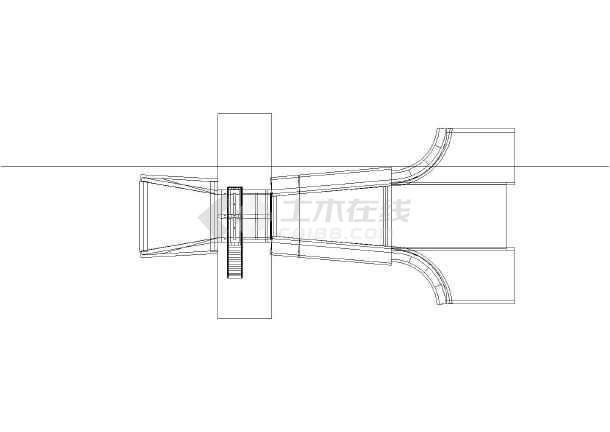 某双孔水闸(平板)三维模型设计图纸