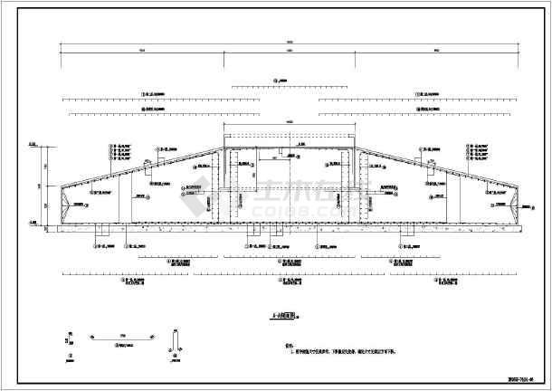 某项目风力发电机组基础部分结构施工图