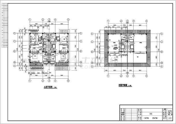 某农村四层框架结构住宅楼建筑设计方案