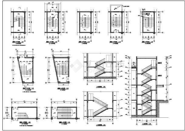 南方某地区2层超市建筑设计施工图