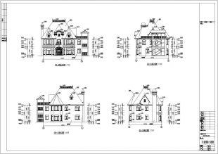 某维多利亚公路木结构图纸建筑设计施工图风格房子港清玉环图片