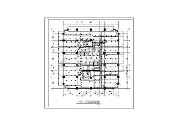 某28层大厦建筑给排水设计施工图