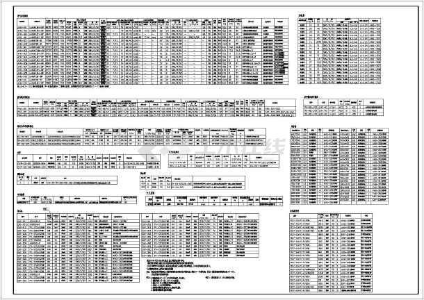 某医院手术部净化工程设计图纸(大样图多)-图1