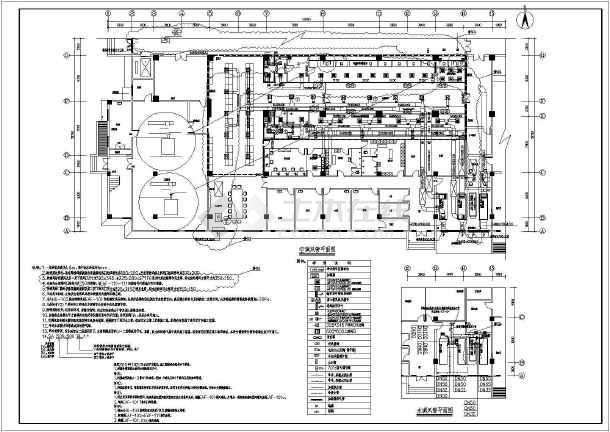 某医院手术部净化工程设计图纸(大样图多)-图3
