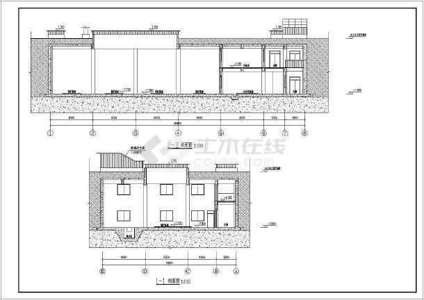建筑包含平面图,剖面图,建筑详图;结构包含基础,梁板柱,剪力墙施工图
