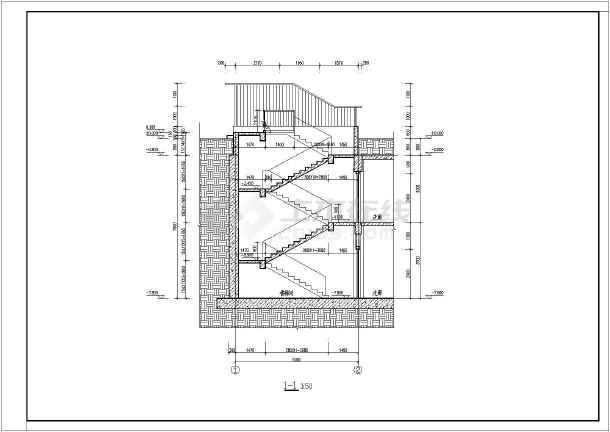 全地下室锅炉房(局部地下二层)建筑结构全套施工图
