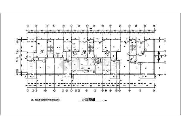 图纸修建v图纸商住楼给排水施工图_cad图纸下visio房地产地产图片