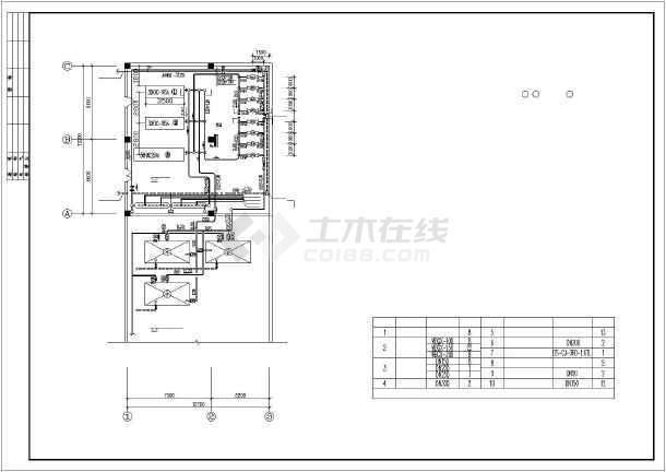 某地药厂机房改造工程设计施工图纸