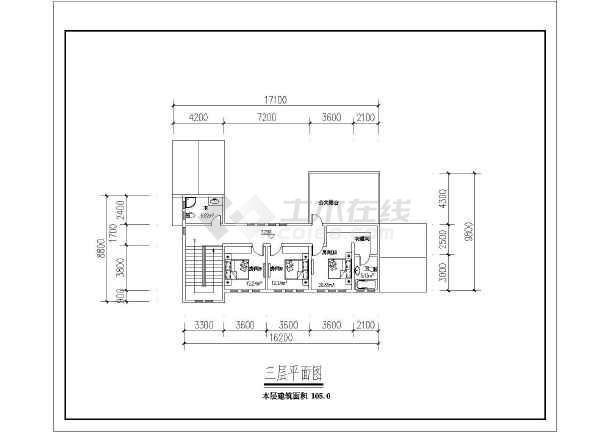 【别墅建筑设计】三层乡下堂屋别墅建筑设计平面图纸