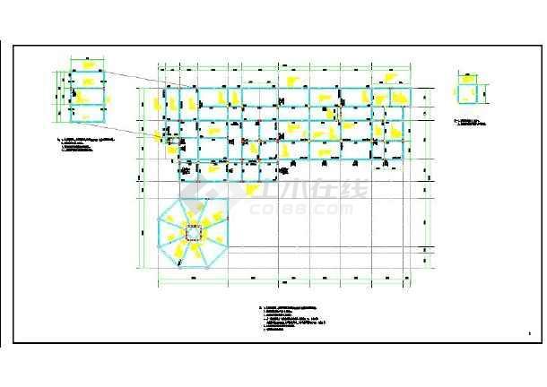某框剪结构幼儿园设计施工图图片1