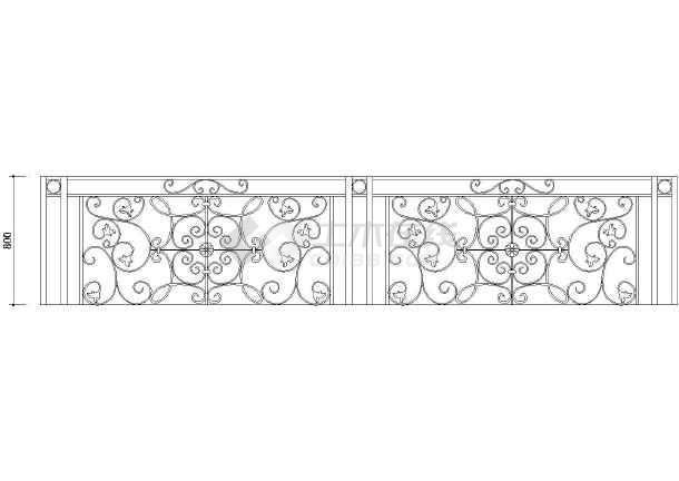 最新整理上百种装饰大样欧式常用cad铁花图cad图案建筑填充图片