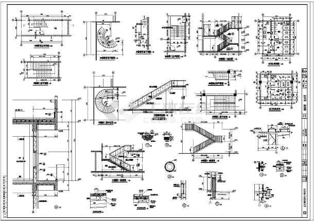 某地2层钢结构展厅建筑及结构施工图