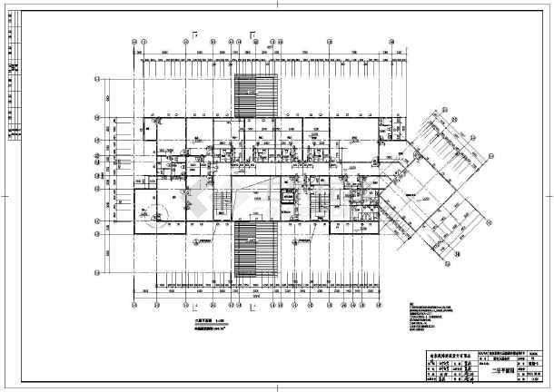某地三层木结构房屋建筑设计施工图