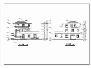 东北农村平房房屋设计效果图