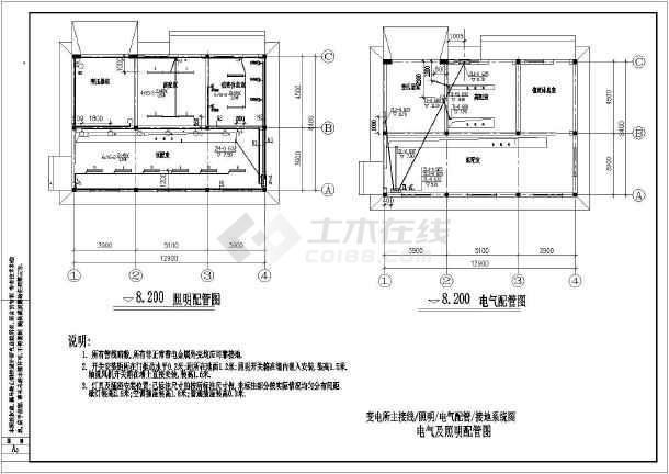 某全套设计图纸工程喷泉配电施工图_cad图纸电气产品注塑图片
