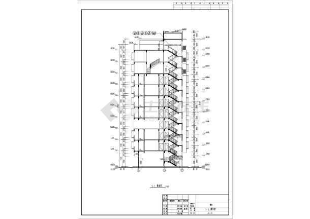 广东某地十层框架结构住宅建筑设计施工图纸