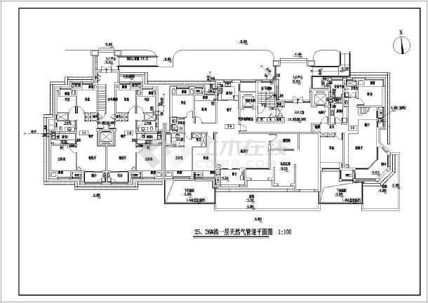图纸设计图纸_目录设计图纸燃气免费下载燃气的不广联达怎么大全出来显示图片