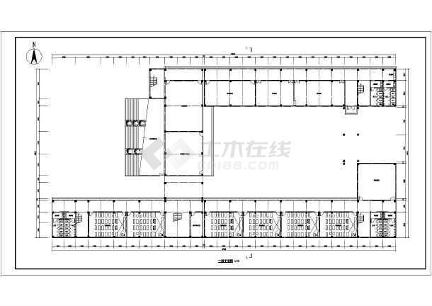某24班图纸教学楼建筑方案设计图纸_cad小学小学华年筑