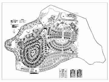 北二环城市公园平面图