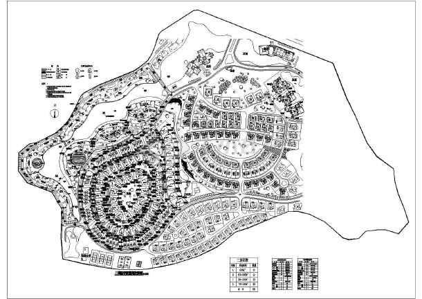 小型别墅cad平面图