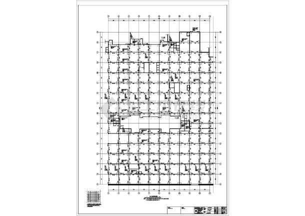 地下车库模壳结构施工图