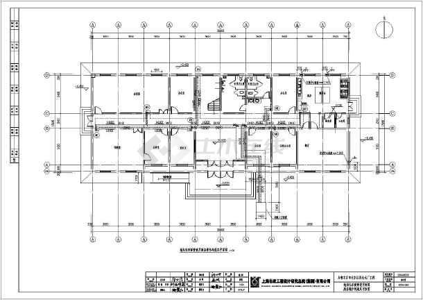 某三层厂区综合楼地暖设计图图片