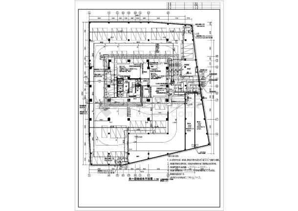 16层高层一类建筑给排水消防全套施工图