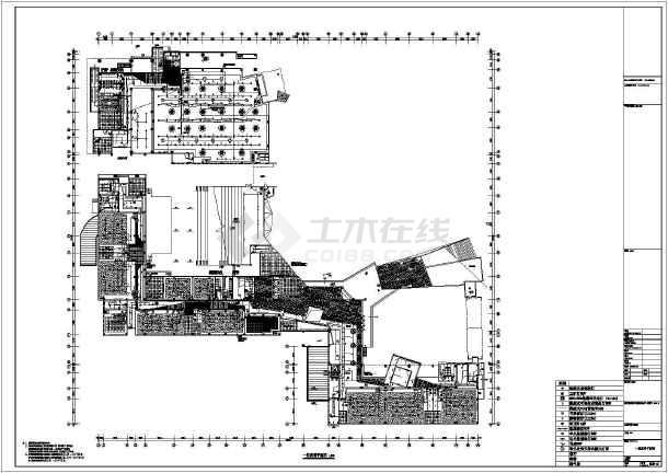 设计 青少年/某5层青少年活动中心电气设计施工图/图1