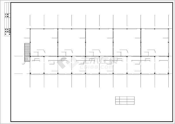 某地钢混羊舍建筑,结构设计施工图