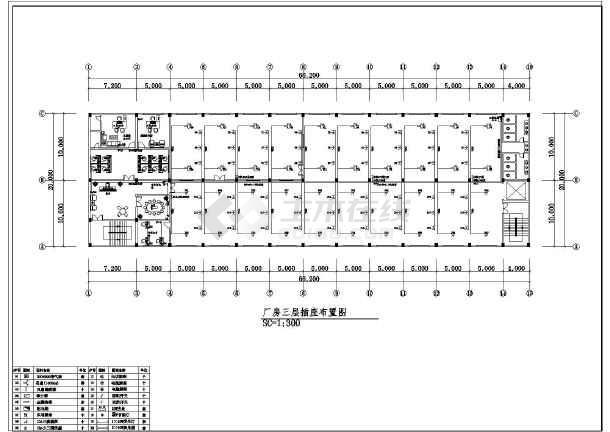 图纸 电气图纸 工业建筑 工业厂房建筑电气设计施工图 某地工厂电气