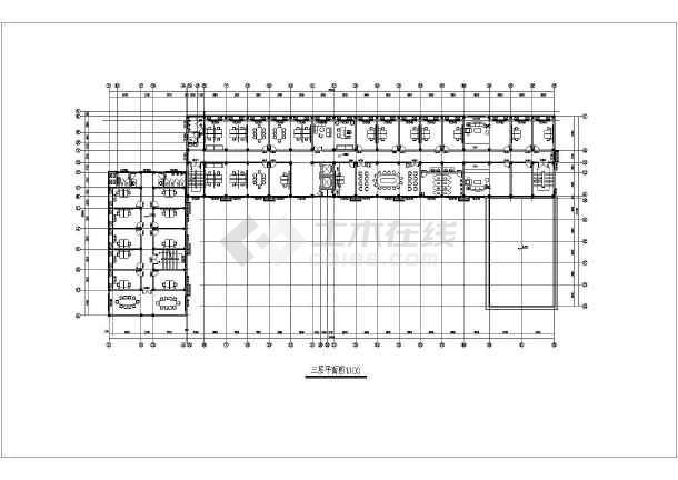 小型办公楼平面图