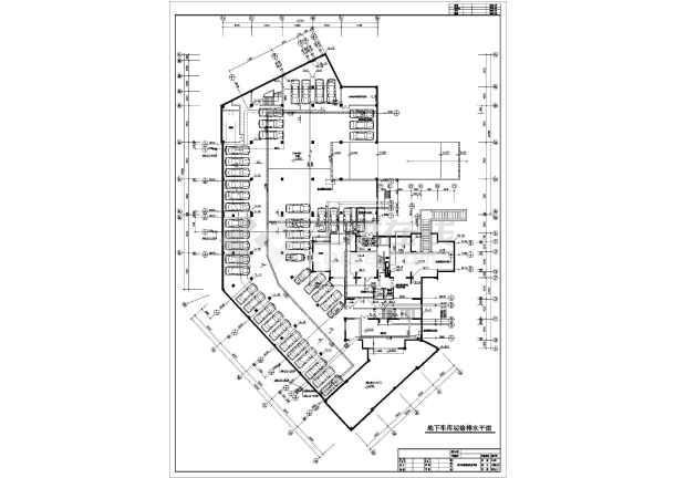 房屋建筑商住楼平面图商住楼建筑施工图商住楼给排水小高层商住楼结构
