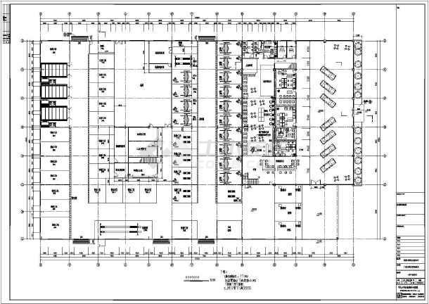 图纸 建筑图纸 商业建筑 汽车4s店设计 【广州】某单层轻钢结构4s店