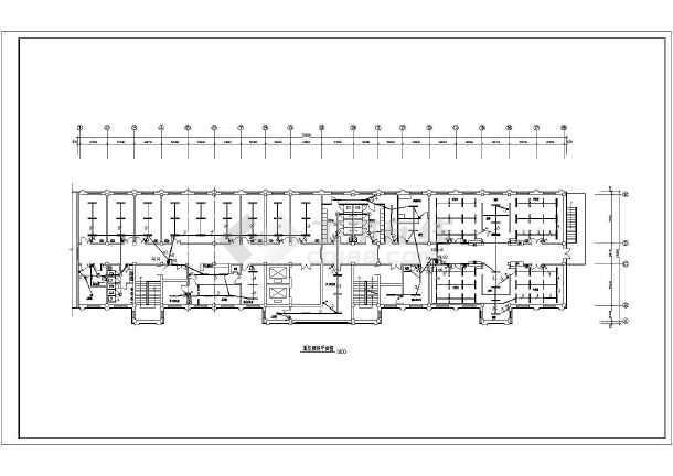某医院8层砼框架结构门诊楼电气设计施工图
