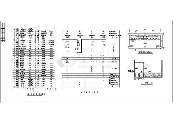 强电设计,图纸内容包括:设计说明,低压配电系统图,照明配电,空调动力