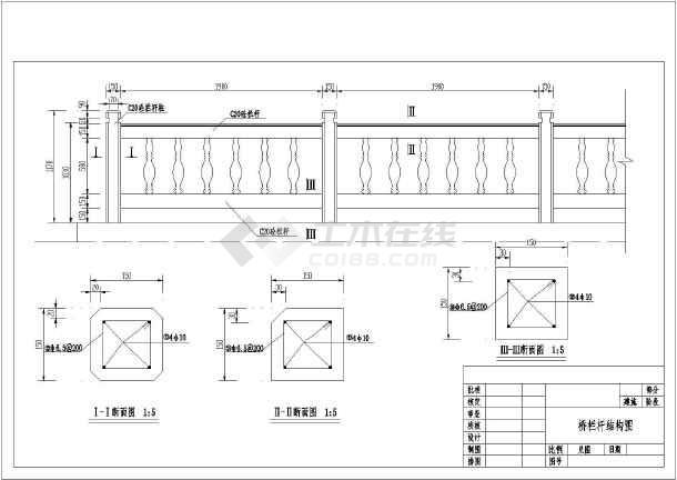 某处25米三跨简支桥钢筋图纸的设计_cad图纸下载-土木
