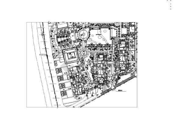 园林工程平面手绘图例
