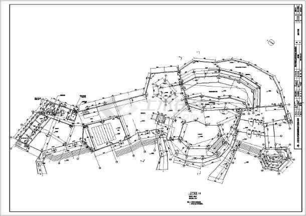 鄂尔多斯2层野生动物园恐龙馆建筑方案图