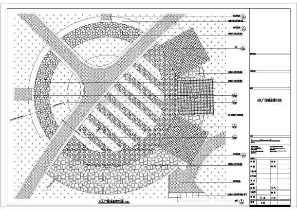 各类断面图,木亭建筑平面图,屋面图,立面图,运动健身广场平面图片