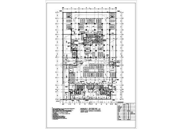 某工程二层人防地下室建筑设计方案图片3