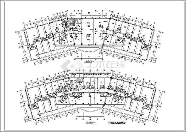 大连某地区一酒店建筑设计施工图纸图片2