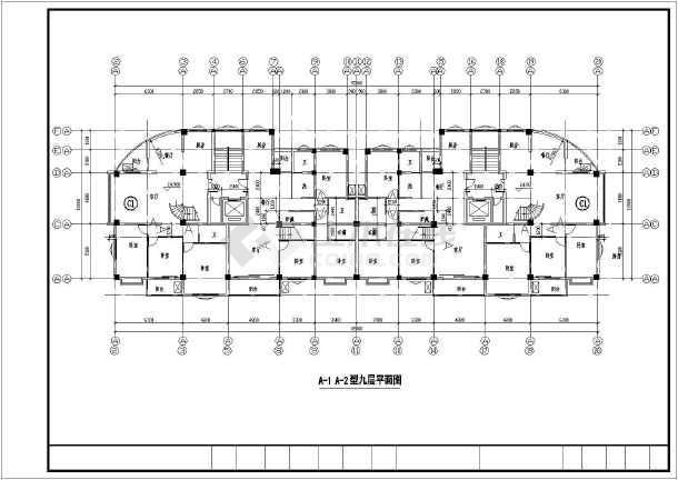 温州某住宅小区设计平面图