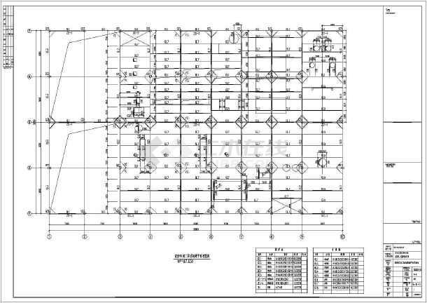 某地区淀粉车间轻钢结构设计施工图