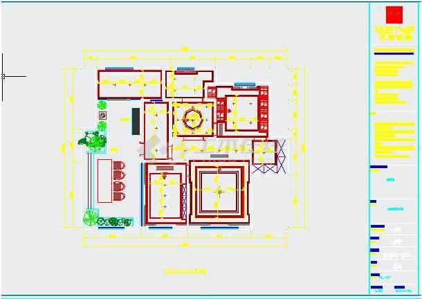 【遂宁】住宅楼家装平面施工图纸设计