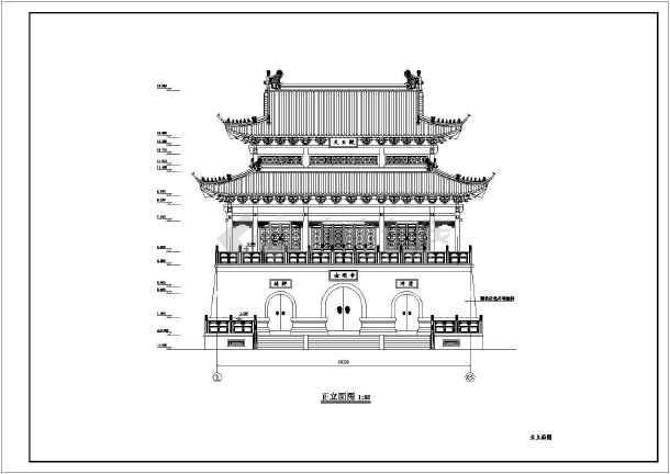 某寺庙绿化规划设计图纸